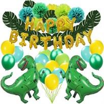 Праздничное украшение на День Рождения Динозавры