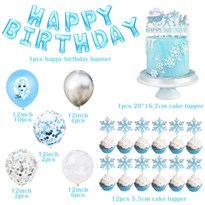 Набор украшений на День Рождения Холодное сердце (Frozen)