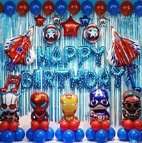 Набор украшений на День Рождения Мстители купить