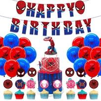 Набор украшений на День Рождения Человек-паук