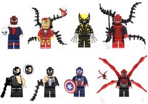 Набор из 8 фигурок совместимых с Лего Веномизированные Герои купить