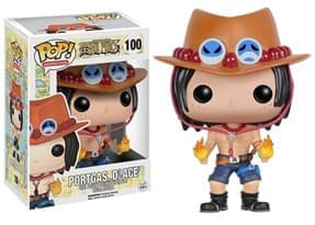 Фигурка Портгас Д. Эйс Ван Пис (Funko POP One Piece Portgas D. Ace Figure) №100 купить