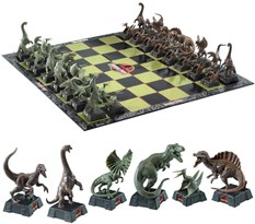 Шахматы The Noble Collection Парк юрского периода (Jurassic Park Chess Set)
