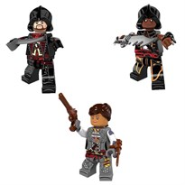 Набор из 3 фигурок совместимых с Лего Ассасин крид (Assassin's Creed) купить