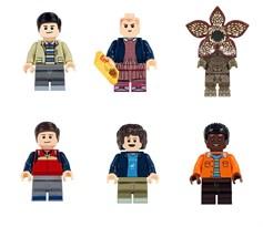 Набор из 6 фигурок совместимых с Лего Очень странные дела (Stranger Things) купить