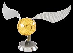 Металлический конструктор Золотой Снитч из Гарри Поттера (Metal Earth - Golden Snitch)