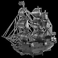 Металлический 3D конструктор корабль Черная жемчужина (Black Pearl Black Version Metal Earth) купить