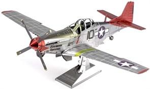 Металлический 3D конструктор Tuskegee P-51D Metal Earth купить