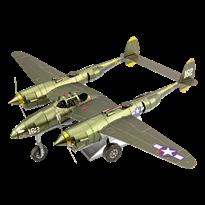 Металлический 3D конструктор P-38 Lightning Metal Earth купить