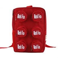 Рюкзак в форме блока Лего (Цвет Красный) купить