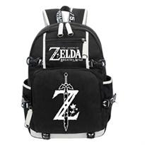 Черный рюкзак Легенда о Зельде (Логотип игры) купить в России с доставкой