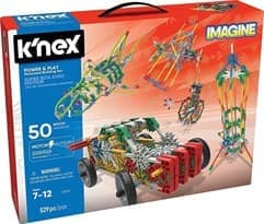 K'NEX Imagine: Power & Play 50 Model Motorized Building Set by K'NEX Brands - купить в Москве по тел +7 (499) 677-64-93 Цена на сайте super01.ru