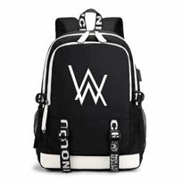 Черный рюкзак Алан Уокер (Alan Walker) купить в России с доставкой