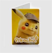 Обложка для паспорта Покемон Детектив Пикачу (Pokemon Detective Pikachu) купить