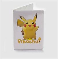 Обложка для паспорта Покемон Пикачу (Pokemon Pikachu) купить