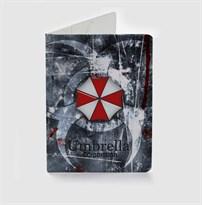 Обложка для паспорта Корпорация Амбрелла Обитель Зла (Umbrella Corporation Resident Evil) купить