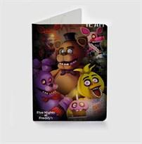 Обложка для паспорта 5 ночей с Фредди ФНАФ (Five Nights at Freddy's) купить