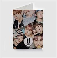 Обложка для паспорта кей поп BTS (БТС) купить