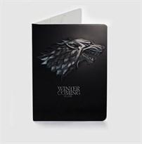 Обложка для паспорта с гербом Старков Игра Престолов (Game of Thrones) купить