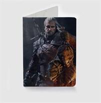Обложка для паспорта Ведьмак (Witcher Wild Hunt) купить
