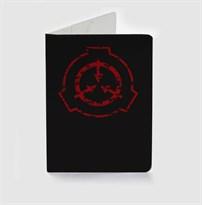 Обложка для паспорта с логотипом игры SCP купить