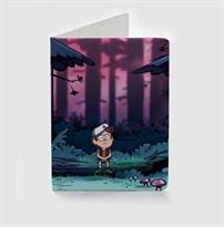 Обложка для паспорта Диппер Гравити Фолз (Gravity Falls) купить
