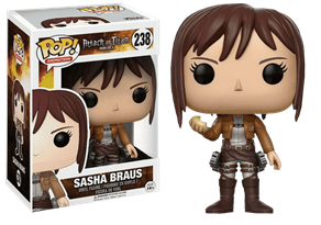 Фигурка Саша Бреус Вторжение Титанов (Funko Pop Sasha Braus Attack On Titan) №238 купить