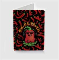 Обложка для паспорта Перец ТА-РА-ТА-ТА купить