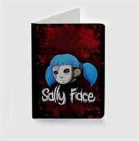 Обложка для паспорта Салли Фейс (Салли Кромсали / Sally Face) купить
