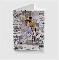 Обложка для паспорта Фредди Меркьюри (Freddie Mercury Queen) купить