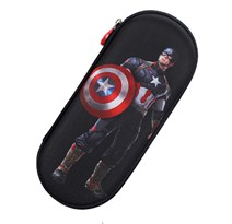 Черный пенал Капитан Америка (Captain America) купить с доставкой