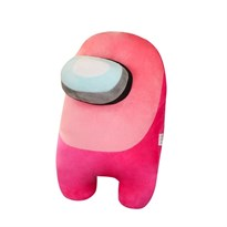Розовая мягкая игрушка Амонг Ас (Among Us) 20 см купить в России