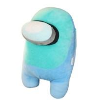 купить Голубая мягкая игрушка Амонг Ас (Among Us) 20 см