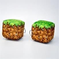 """Подушка """"Блок земли"""" Minecraft"""" купить в Москве"""