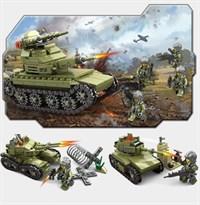 Набор Конструктор 2 танка T-27 купить в Москве