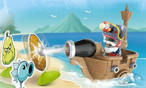 """Купить Игровой набор Пиратский корабль """"Зомби против Растений"""" (Plants vs. Zombies)"""