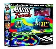 Конструктор Magic Tracks 220 деталей. Игрушка, светящаяся дорога, гоночная трасса. Купить в Москве