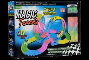 Конструктор Magic Tracks 236 деталей. Игрушка, светящаяся дорога, гоночная трасса. Купить в Москве