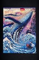 Деревянный пазл Кит Puzzloman Blue Whale 153 элемента купить в Москве
