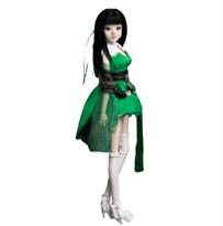 Кукла BJD в зелёном платье (Знак зодиака Стрелец) купить в России