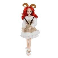 Подвижная кукла из коллекции 12 созвездий (знак зодиака Овен) купить в России