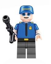 Фигурка Полицейский 5 ночей с Фредди совместима с лего купить
