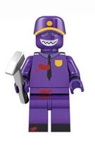Фигурка Полицейский фиолетовый  5 ночей с Фредди совместима с лего