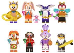 Набор из 8 фигурок Соник (Sonic) совместимых с лего купить