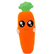 Плюшевая игрушка глазастая морковь купить в России