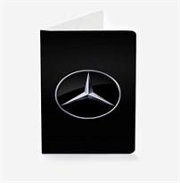 Обложка для паспорта с лого Mercedes-Benz