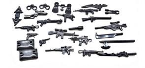 Набор оружия для фигурок совместимых с лего купить