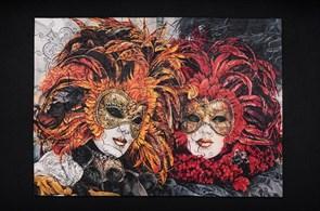 Деревянный пазл Венецианские маски Puzzloman Venetian Masks 165 элементов купить