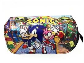 Пенал школьный Супер Соник и Эми Роуз (Sonic the Hedgehog and Amy Rose) купить