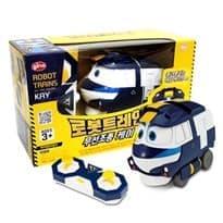 Игрушка - трансформер КЕЙ на радиоуправлении из мультфильма Роботы-поезда на сайте Super01.ru